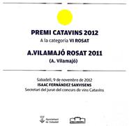 Premi Catavins 2012