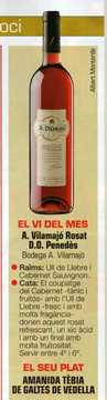 Wine of the month Rosé - Lecturas